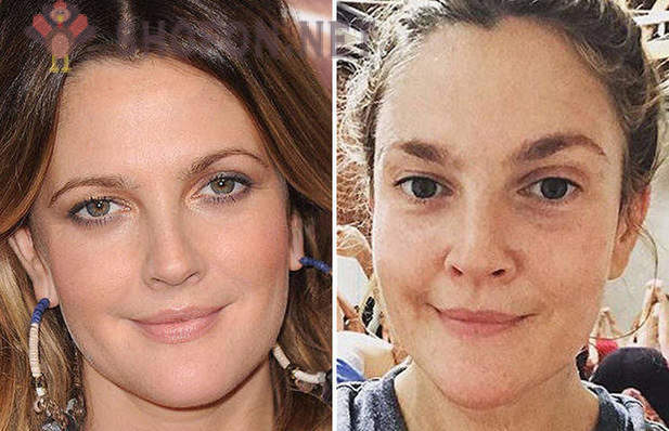 Hollywood actrices zonder make-up